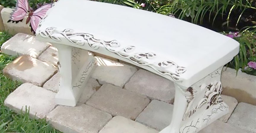 Create Your Own Memorial Bench