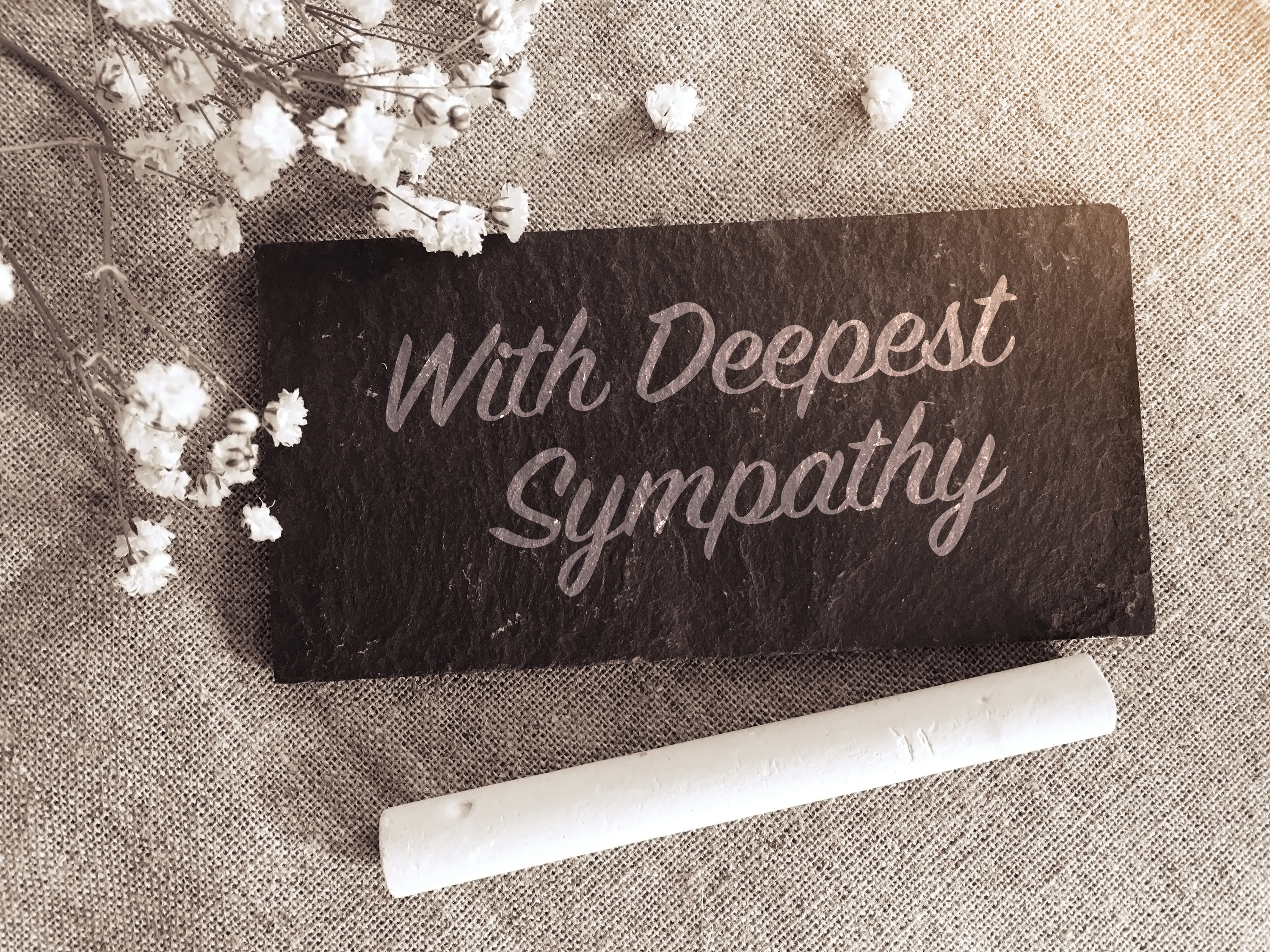 How To Write A Sympathy Note For A Distant Friend